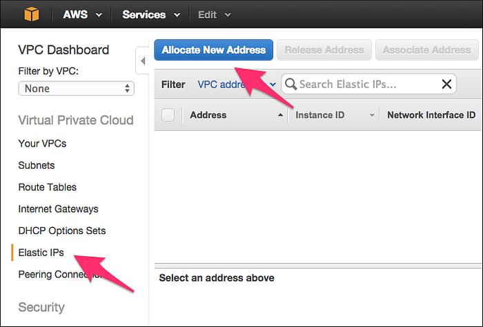 Amazon Web Services - Cloud Foundry BOSH